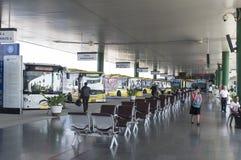 Автобусная станция Стоковое Изображение RF