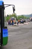 Автобусная станция Стоковое Изображение