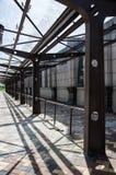 Автобусная станция Стоковые Изображения RF