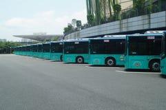 Автобусная станция Стоковая Фотография RF