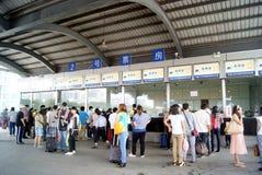Автобусная станция Dongguan, в фарфоре Стоковое фото RF