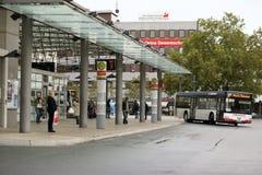 Автобусная станция Hamm Стоковые Изображения RF