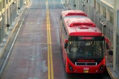 Автобусное обслуживание метро Лахора стоковое изображение rf