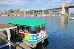 Автобусное обслуживание Aqua Ванкувера Стоковые Изображения RF