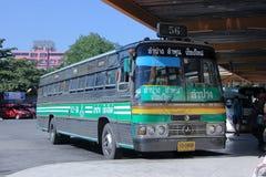 Автобусный маршрут Lampang и Chiangmai компании Greenbus Стоковое фото RF