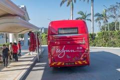 Автобус Wynn Макао стоковое изображение rf