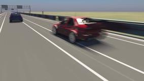 Автогонки Стоковые Изображения RF