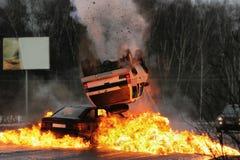 автокатастрофа Стоковые Изображения RF