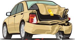 автокатастрофа иллюстрация штока