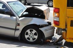 автокатастрофа Стоковое фото RF