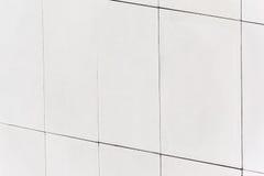 Автоклавированная белизна газировала, который пенят стену бетонной плиты Стоковые Фото