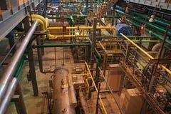 автоматизированная воздухом внутренняя отделяя мастерская взгляда Стоковая Фотография RF