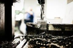 Автоматизированные сверля машины стоковые фотографии rf