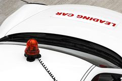 автоматическая безопасность гонки автомобиля Стоковые Изображения RF