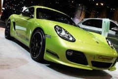 автоматическая выставка зеленого цвета chicago автомобиля Стоковые Изображения RF