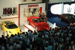 автоматическая выставка 2008 Стоковые Изображения