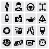 Автоматическая икона Стоковые Изображения