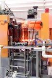 Автоматическая машина для дуть пластичные бутылки ЛЮБИМЧИКА Стоковые Изображения