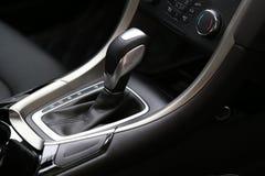 Автоматическая передача, супер интерьер спортивной машины Стоковые Изображения RF