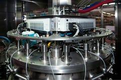 автоматическая разливая по бутылкам линия вино Италии Стоковое Фото
