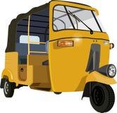 Автоматическая рикша Стоковое Изображение