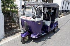 Автоматическая рикша стоковое фото rf