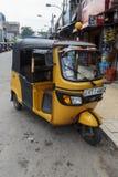 Автоматическая рикша стоковая фотография