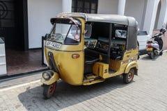 Автоматическая рикша стоковая фотография rf