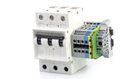 автоматическая цепь выключателя Стоковое Изображение