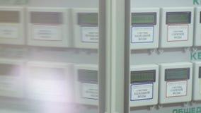 Автоматические метры в многоквартирном доме через стекло акции видеоматериалы