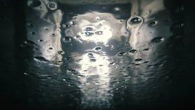 Автоматический взгляд мойки изнутри автомобиля видеоматериал