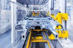 автоматический завод автомобиля тела Стоковое Изображение RF