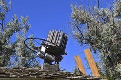 Автоматический метатель мишени Стоковая Фотография