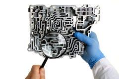 Автоматический ремонтник обслуживания для автоматического Стоковая Фотография