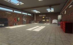 автоматическое обслуживание гаража Стоковые Фотографии RF