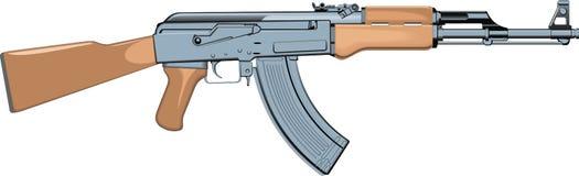автоматическое оружие Стоковые Фотографии RF