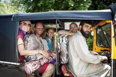 Автоматическое rikshaw Стоковые Фото