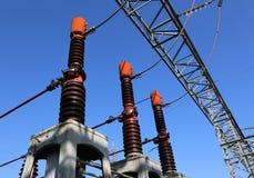 автоматы защити цепи в электростанции для продукции электрического Стоковые Фото