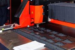 Автомат для резки лазера стоковая фотография rf