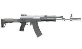 Автомат AK-12 Реалистическая иллюстрация вектора Иллюстрация штока