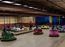 Автомобили бампера стоковая фотография