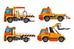 Автомобили вакуумизатора Различные изображения вектора перехода бесплатная иллюстрация
