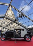 Автомобили выставка концепции и дизайн автомобиля - Париж 2018 стоковое фото
