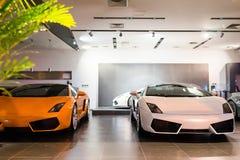 Автомобили для сбывания Стоковые Изображения RF