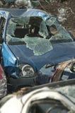 автомобили затопили самокаты Стоковые Изображения
