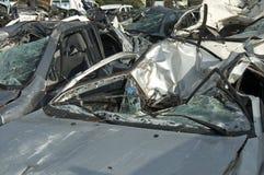 автомобили затопили самокаты Стоковые Фото