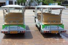 Автомобили или electromobiles в xiamen стоковые изображения rf