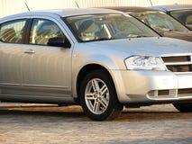 автомобили конструируют самомоднейший тип рядка Стоковые Изображения