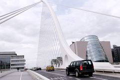 автомобили моста Стоковое Изображение RF