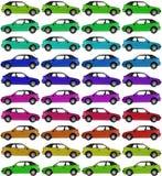 автомобили предпосылки Стоковые Изображения RF